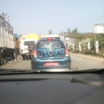 Low cost Nissan Micra Active Spotted in Chennai