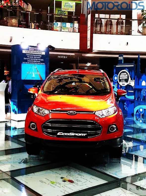 Motoroids at Ford Ecosport Media Drive: Tech specs and variants