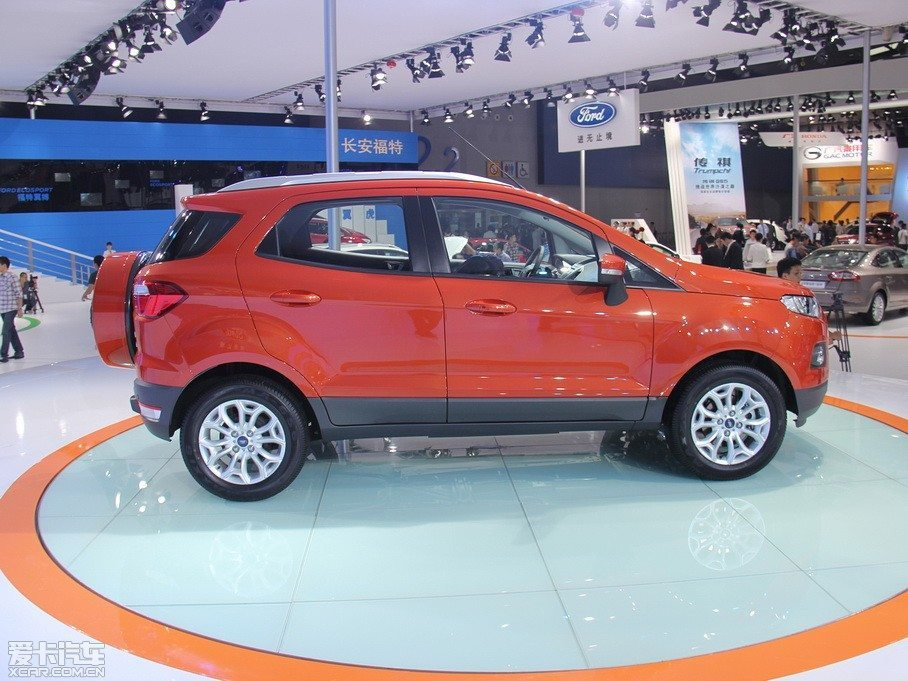 Ford EcoSport Launched in China. India Launch Soon
