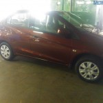 Honda Brio Amaze Spotted at Mysore dealership. April 11 Launch