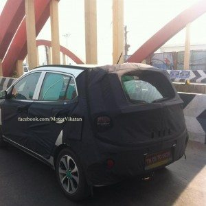 Hyundai i15 or next gen i10 spy images (1)