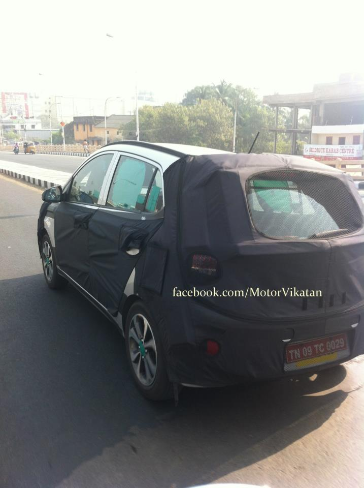 Hyundai i15 or next gen i10 spy images (2)