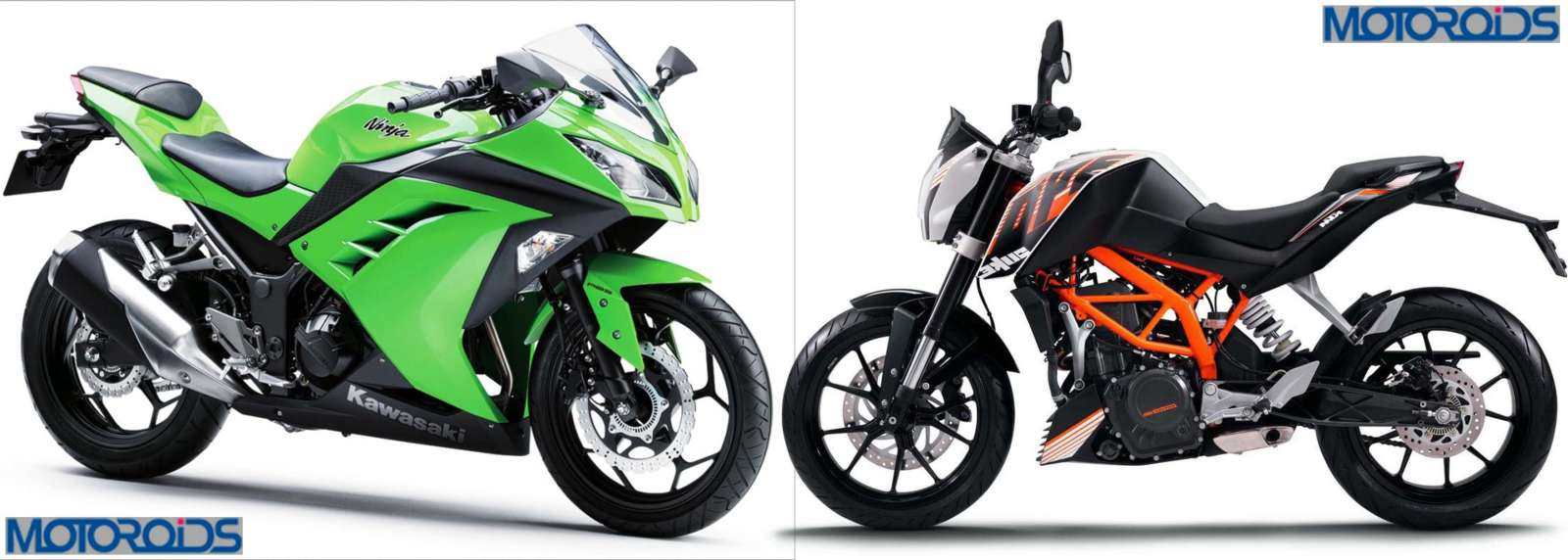 CONFIRMED: KTM Duke 390 & Kawasaki Ninja 300R to be unveiled in India ...