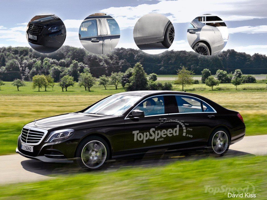 Rendering: All new Mercedes S600 Pullman to replace the Maybach