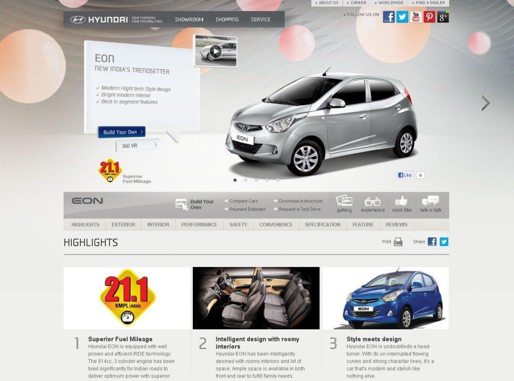 Hyundai Motor India Opens New Integrated Website