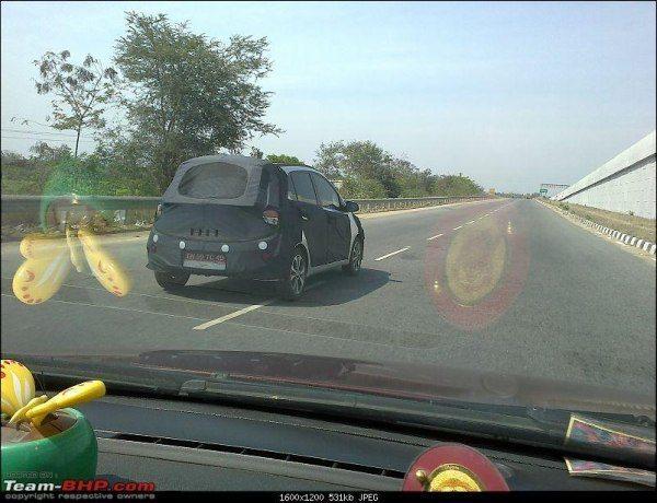 2014 Hyundai i10 aka Brilliant Caught Testing in India