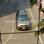 Nissan Micra facelift spotted undisguised