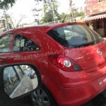 New Generation Opel Corsa hatchback spotted testing in India