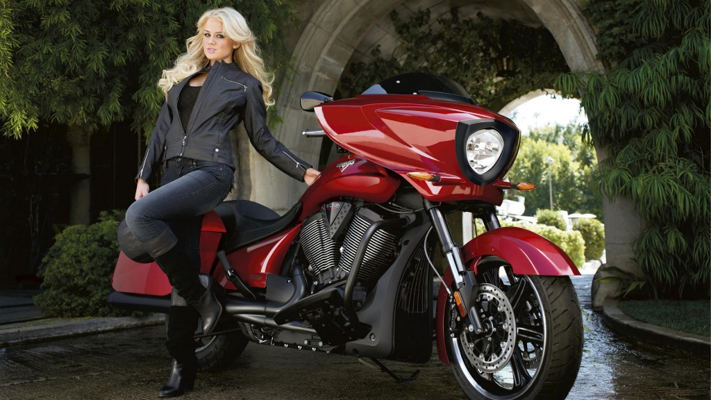 Victory Motorcycles & Playboy Mansion team up for Operation Gratitude.