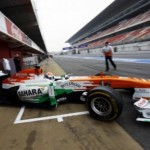 Sahara Force India F1 Team: Barcelona Test Report