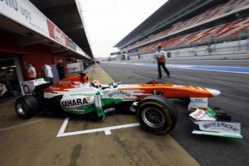 Sahara Force India F1 Team: Barcelona Test Report