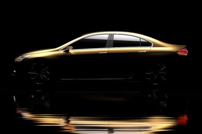 New Suzuki sedan concept to debut at the 2013 Shanghai Auto Expo