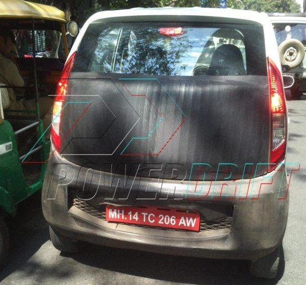 Tata Nano Diesel Spotted in Bangalore