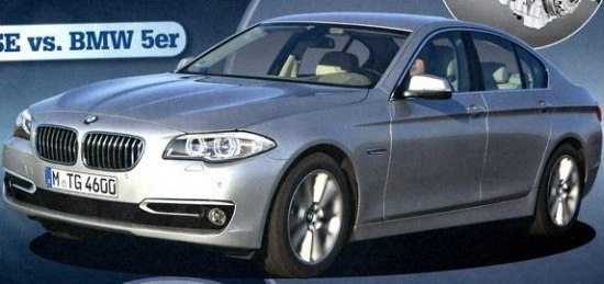 2014 BMW 5 Series LCI Exterior Images Leaked