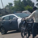 New Hyundai Santa Fe Spotted Testing in India