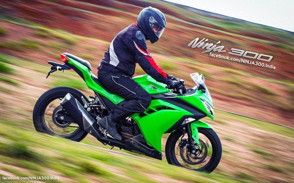 Kawasaki Ninja 300 to cost around INR 4 lakhs on road. Bookings open