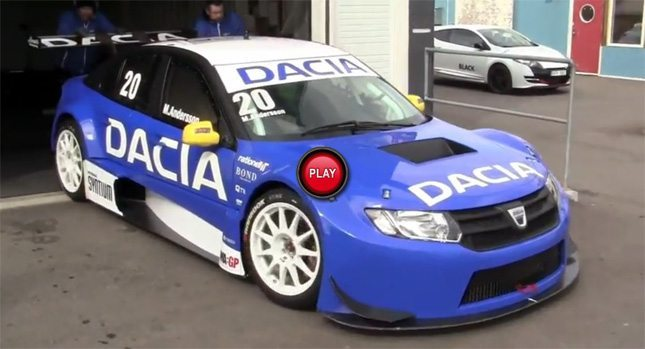 Meet Dacia Logan STCC : 400bhp of power and 0-100kmph in 3 secs