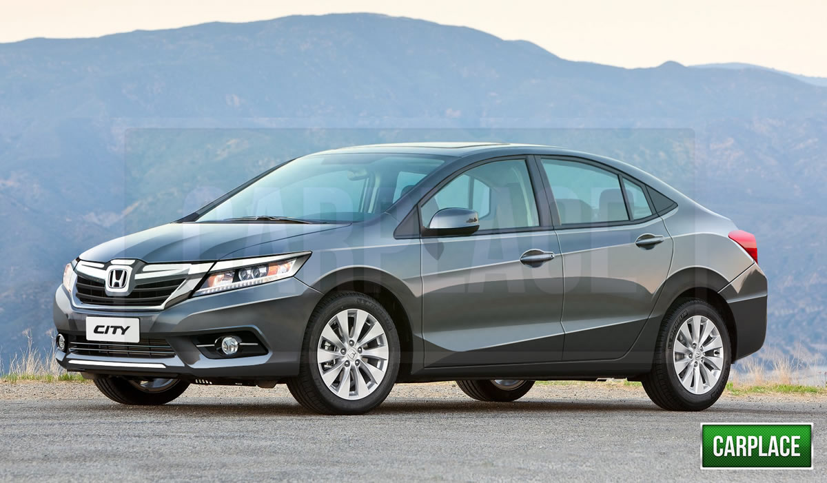 Renders and Details: Next generation 2015 Honda City   Motoroids