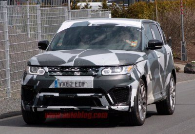 2015 Land Rover Range Rover Sport R spotted testing
