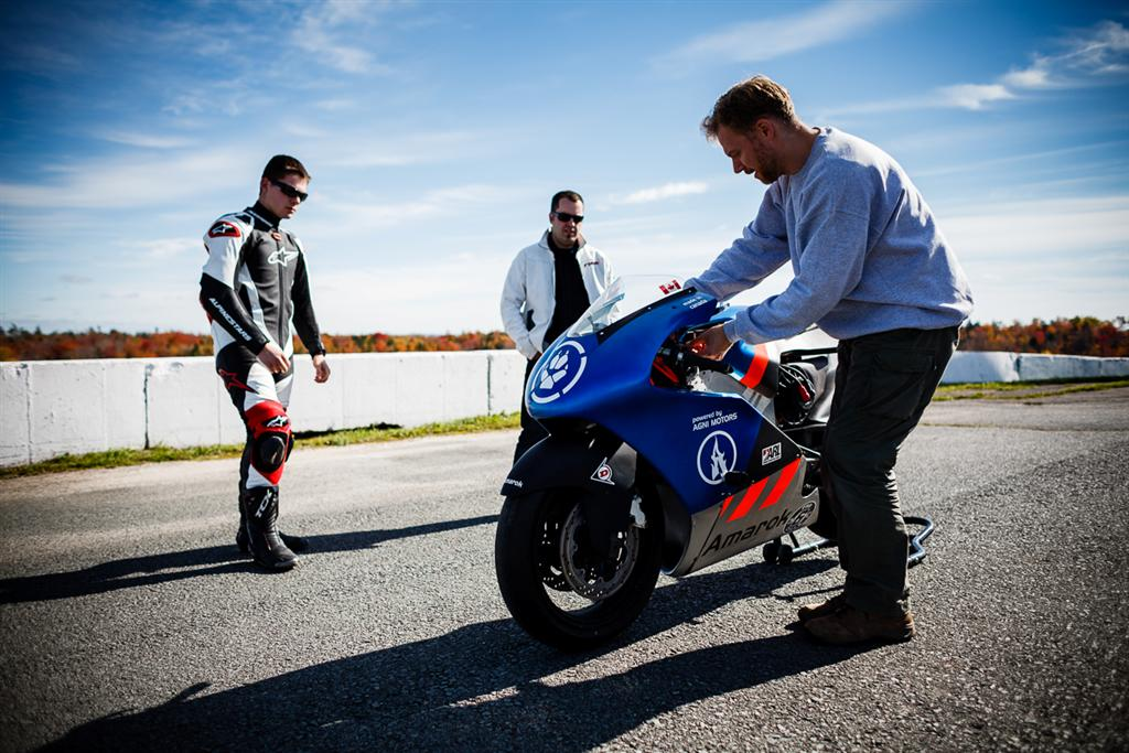 Canadian Amarok P1A Electric Superbike to race at Pikes Peak 2013