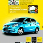 Honda Amaze bags over 6000 orders within 5 days of launch
