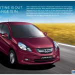 Honda Amaze India official brochure images with all the features and specs