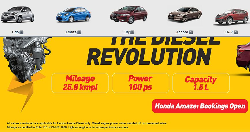 Civic and Jazz no longer feature on Honda Cars India website