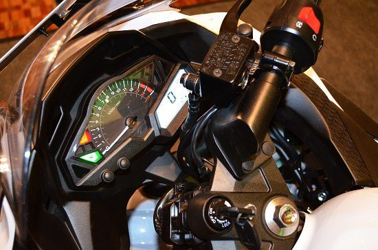 Kawasaki Ninja 300 India Price Launch Pics Speedo