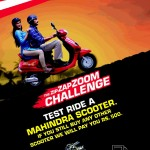 Now test ride a Mahindra scooter and win Rs 500 if you buy another brand