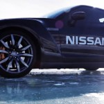 Bone stock Nissan GT-R sets unofficial speed record on Ice