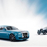 Rolls Royce Ghost Alpine Trial Centenary Collection showcased at Auto Shanghai 2013