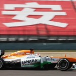 Sahara Force India :  2013 UBS Chinese Grand Prix, Race Report