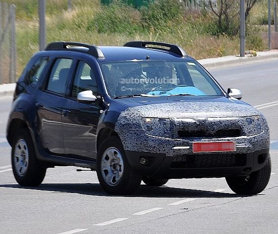 Dacia Duster facelift spotted testing in Spain