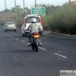 Is this the speculated Bajaj Pulsar 180NS?
