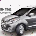More details & images of Maruti Ertiga Feliz special edition variant
