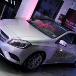 Mercedes A Class unveiled to a select audience in Mumbai. May 30 launch