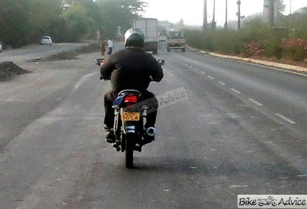 Is this the upcoming Bajaj Discover 110cc variant?