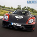 337kmph top-end & 0-100kmph in 2.8 secs. That's Porsche 918 Spyder for you