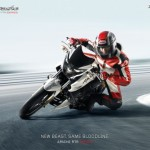 Total sales figure of TVS Apache cross the One Million mark
