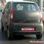 Tata Nano diesel spotted testing in Pune