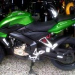 The Pulsar 200NS gets sparkling Ninja green shade in Indonesia