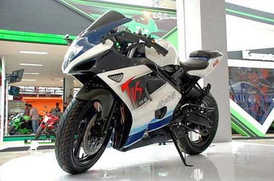 TVS Apache RTR 250 coming in early 2014?