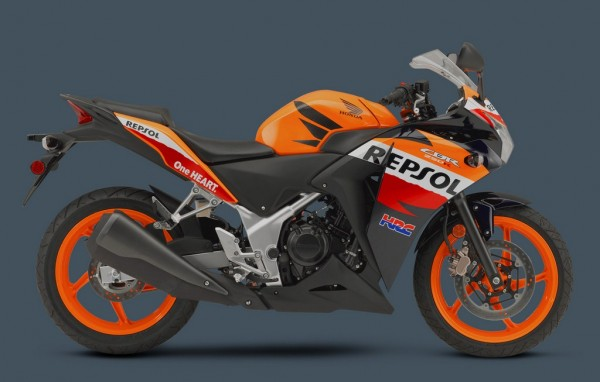 Honda CBR 250R gets new paint schemes. Repsol Edition included