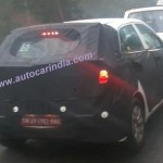 Next generation 2015 Hyundai i20 test mule spotted in India