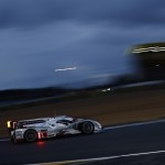 Two Audi cars on front row at Le Mans 24 Hours