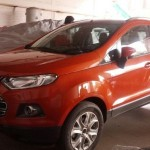 Ford EcoSport starts reaching dealerships. Launch soon