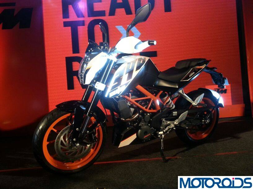 KTM 390 Duke India launch pics price 9
