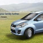 Maruti Suzuki Ertiga Green CNG variant launched @ INR 6.52 lakhs