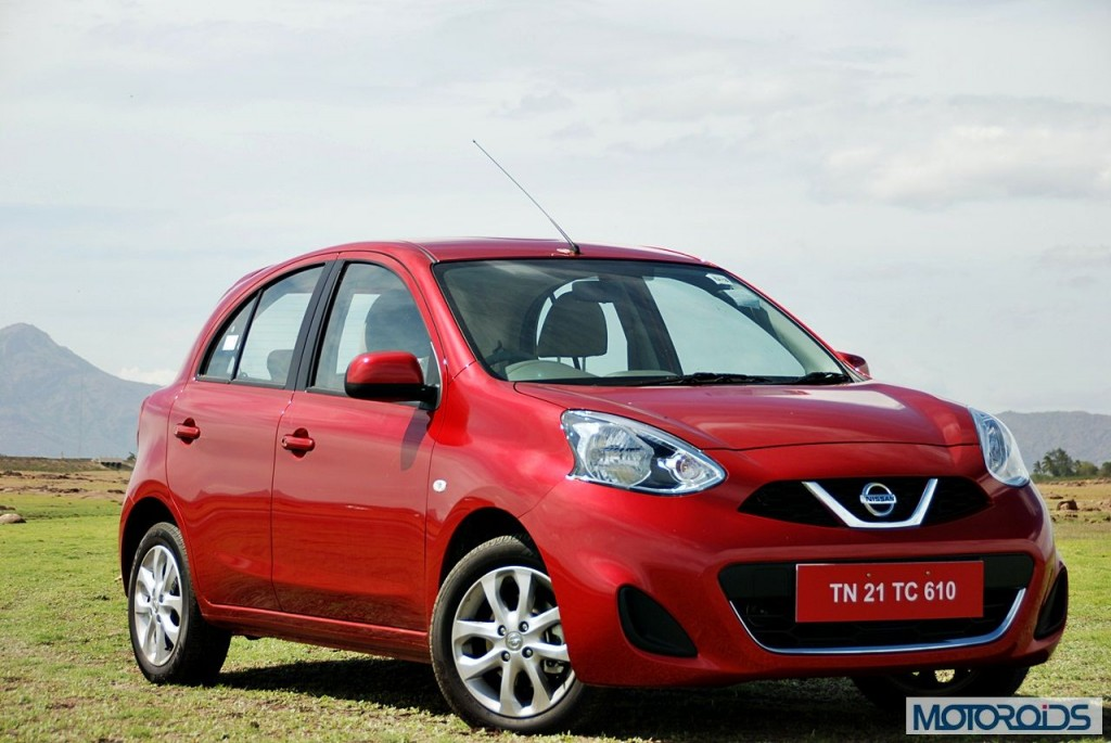 New Nissan Micra 2013 facelift India review (124)