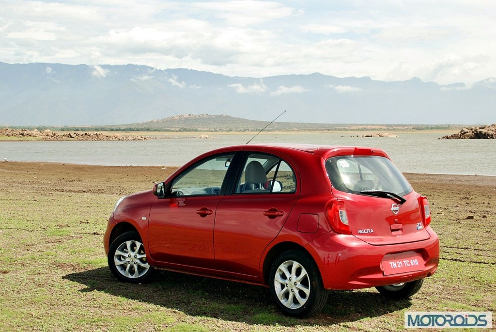 New Nissan Micra 2013 facelift India review (127)